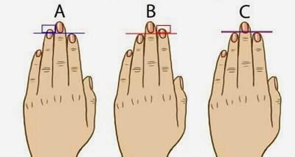 пальцы личности