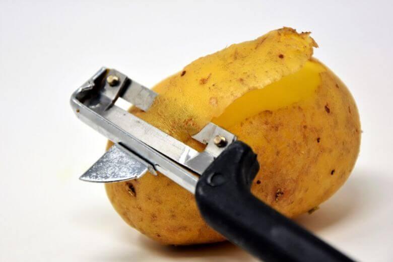 седая картошка