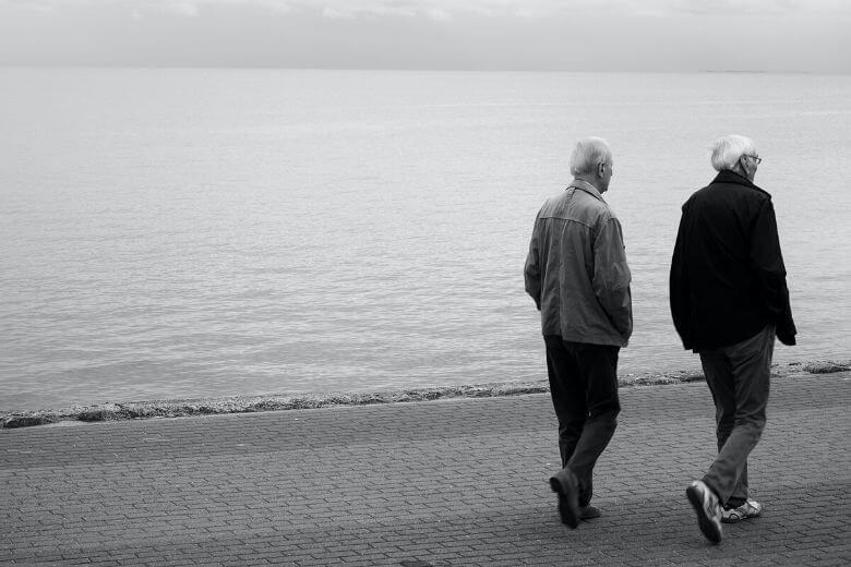Двое пожилых мужчин подозревают