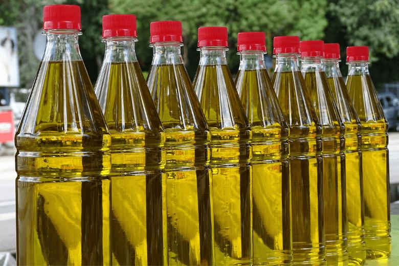 заливка оливкового масла