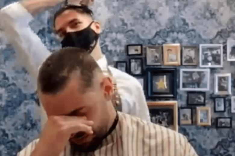 Cancer patient hairdresser